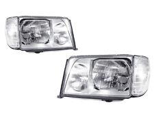 DEPO 1994-1995 Mercedes-Benz W124 Euro Glass Headlights + Corner Lights Set