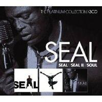 "SEAL ""SEAL/ SEAL II/ SOUL"" 3 CD BOX NEU"