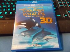 Dolphins and Whales 3D: Tribes of the Ocean IMAX! BLU RAY 3D + BLU RAY!/LN++++++