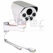 Rsrteng 2MP 1080P 10XOptical Zoom PTZ Camera H.265 IR IP66 Surveillance Cameras