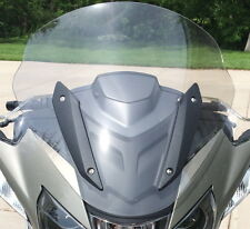 "BMW R1200RT 2014-UP 22"" TALL, LIGHT GRAY REPLACEMENT WINDSHIELD"