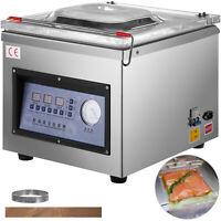 Digital Vacuum Packing Sealing Machine Sealer 320mm Chamber Commercial DZ-260C