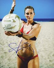 "~~ KERRI WALSH JENNINGS Authentic Hand-Signed ""SEXY VOLLYBALL"" 8x10 photo ~~"