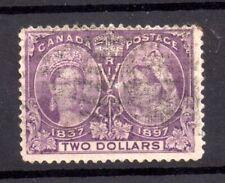 Canada QV 1897 $2 Jubilee SG137 fine used WS18025