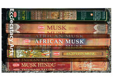 Hem Incense Sampler Musk-Musk Hindu-Precious Musk-Egyptian Musk-African Musk :-)