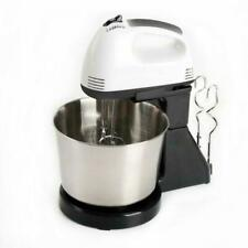 7 Speed 2L Electric Food Cake Egg Cookie Dough Handheld& Stand Mixer 2 Beaters