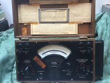 Vintage Universal Polyranger, model Usp, by Sensitive Research Instrument Corp.