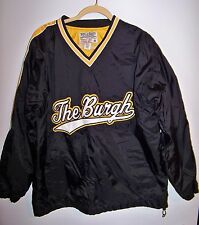 THE BURGH Pullover Windbreaker STEELER colors Steve and Barry's Size M