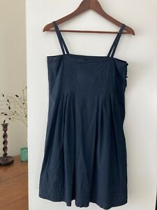 APC Designer Cotton Dress, Black, Size S