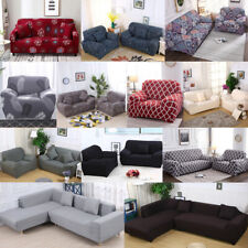 Universal Stretch Chair Sofa Covers 1 2 3 4 Seater Protector Couch Slipcover US