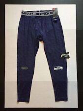 Under Armour Coldgear Seattle Seahawks Compression Authentic Combine Leggings XL