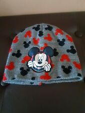 Toddler Kids Mickey Mouse Hat Beanie