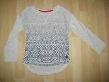 Girls Aged 4 Years White / Blue Top from Next