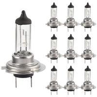10 X Bright H7 Bulbs 499 Car Halogen Headlamp Headlight Bulb 12V 55W (2 Pin) 477