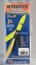ESTES MINI MOSQUITO MODEL ROCKET  SKILL LEVEL 1 rocketry space nasa # 1345