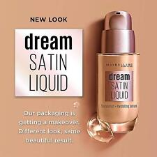 Maybelline Dream Satin Liquid Foundation ~ Choose From 12 SEALED Shades