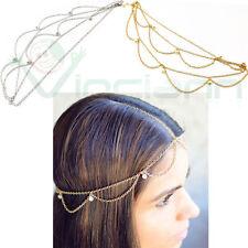 Acconciatura capelli testa copricapo hippy cerchietto accessorio bijoux donna