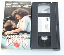 Sweet Dreams Jessica Lange Patsy Cline HBO Video VHS Country Music Ed Harris
