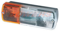 UNIVERSAL RECTANGULAR OBLONG TRACTOR FRONT COMBINATION SIDE INDICATOR LAMP LIGHT