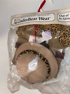FLUFFY VANDERBEAR OUT OF AFRICA OUTFIT NABCO Safari