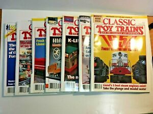 Classic Toy Train Magazine Complete 1995