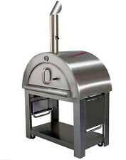 "New XL Size Wood Fired Outdoor Stainless Steel Pizza Oven BBQ Grill   44"" Wide!"