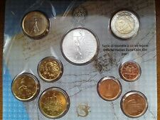 italie bu 2003 (avec pièce 5 euros en argent)