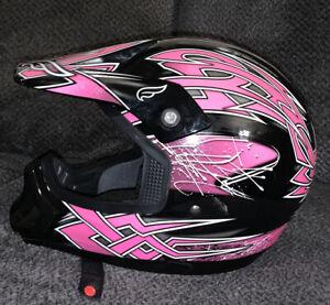 Fulmer JT-1 Maze motorcycle motocross helmet Youth Size Medium