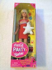 1998 Coca-Cola Party Barbie Special Edition 22964 NEW