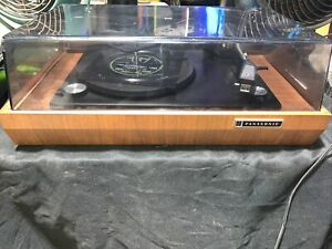 Vintage PANASONIC RD-7673 Automatic Tunrtable 4 Speed Record Player
