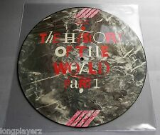 The History Of The World Part 1 Picture Disc Comp LP Saints Gun Club Outcasts