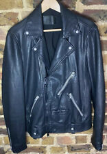 All Saints Rigg Cuero Biker Jacket SMALL RRP £ 348