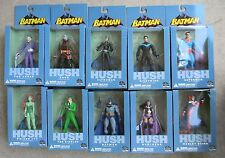 DC Direct Batman Hush action figure lot of 10 in boxes never opened