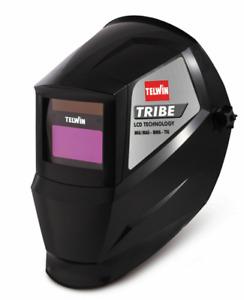 Casco per Saldatura automatica autoscurante LCD Telwin Tribe saldatore profes.