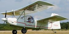 HM-1100 Cordouan Microlight Mignet Airplane Mahogany Wood Model Large New