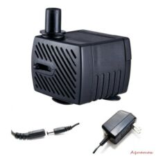 40gph Submersible Fountain Pump UL Listed 2 Watts 12V Dog/Cat Pet Water Bowl