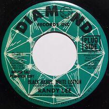 RANDY LEE: BLACK HANDS, WHITE COTTON northern soul 45 on DIAMOND DJ hear it!
