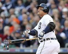 Miguel Cabrera 2012 ALDS Game4 HOMERUN Detroit Tigers LICENSED poster 8x10 photo