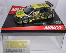 Ninco 50393 Slot car Renault Megane Trophy Nscc 2006 Edition Limitée 500 Unités