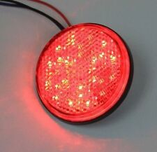 New 2x Round Reflector RED LED Rear Tail Brake Stop Light Third Toyota COROLLA