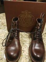 Wolverine Luke 1000 Mile Brown Leather Lace-Up Boot, size 9