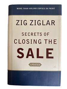 Updated Secrets of Closing The Sale Hardcover Zig Ziglar