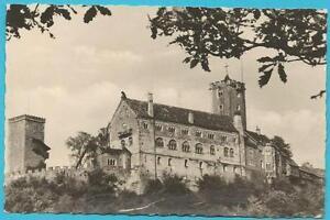 Ansichtskarte von Eisenach (Thüringen) mit Blick auf die Wartburg von Osten her!