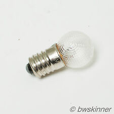 6V 3W  E10 G MES Miniature Edison Screw Lamp / Light Bulb.