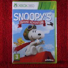 SNOOPY'S GRAND ADVENTURE - Microsoft Xbox 360 ~PAL~3+ Brand New & Sealed!