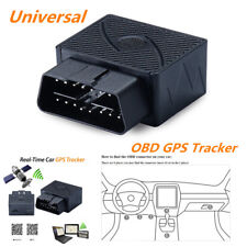 Portable Car GPS Real-Time Tracker OBD II OBD2 Tracking Device For Android IOS