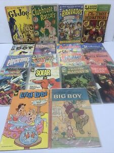 Lot of (18) Old Silver Golden Age Comic Books Independent Archie GI Joe Josie