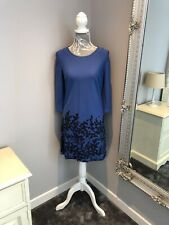 Boden 10R Blue Berry Print Dress