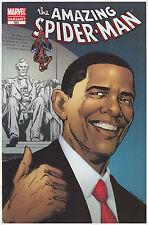 The Amazing Spider-Man #583 Barack Obama Variant 5th Printing (Blue Cover)