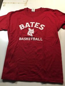 Bates College Basketball T-shirt SzYouth Med